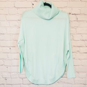 NWOT Carlisle Mint Cowl Neck Sweater Pullover